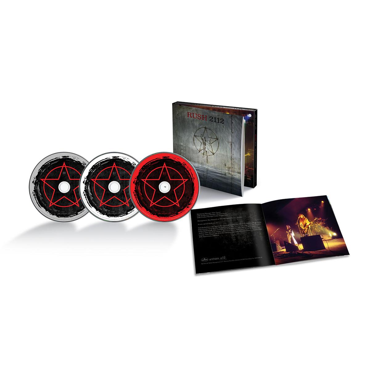 CD/DVD - Rush 2112 40th Anniversary
