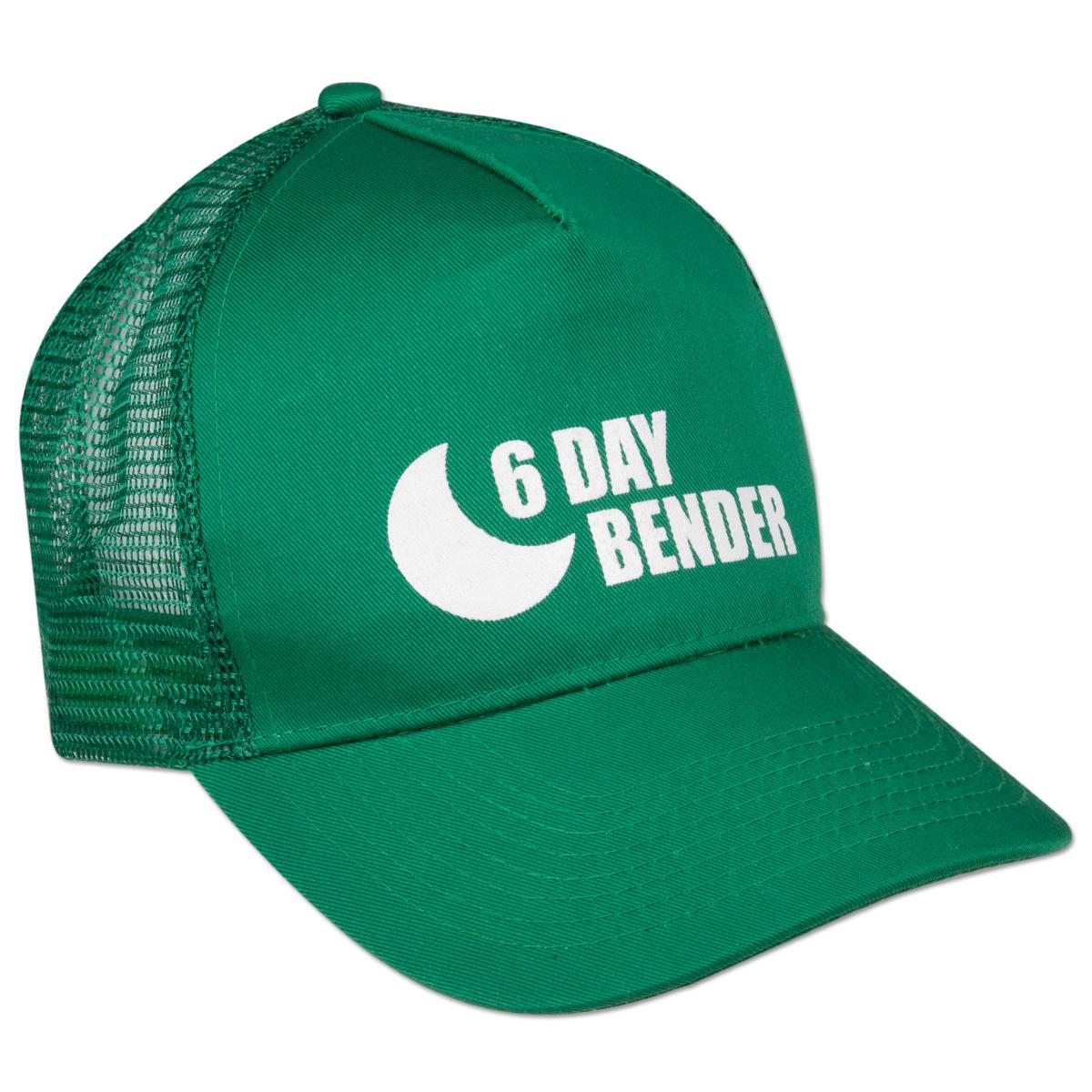 Logo Trucker Hat Green