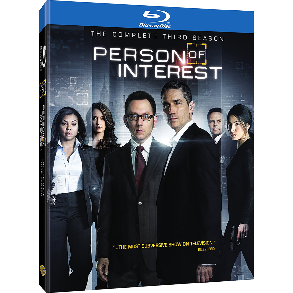 Person Of Interest: Season 3 Blu-ray -  DVDs & Videos 6445-773078