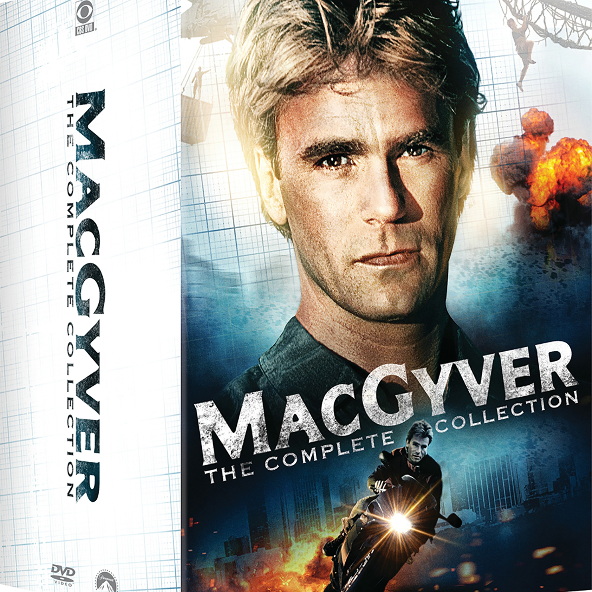 MacGyver: The Complete Collection DVD -  DVDs & Videos 6445-778415