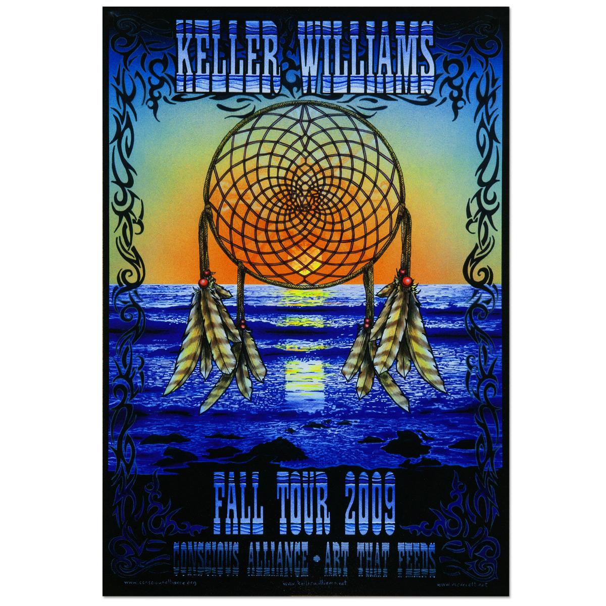 Keller Williams Fall Tour 2009 Poster