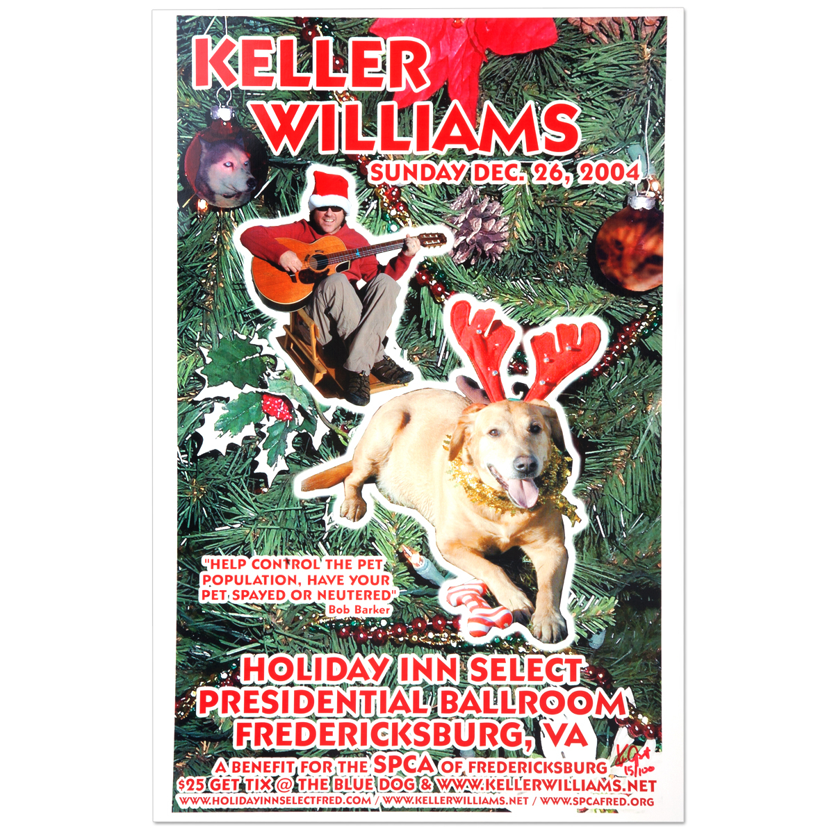 Keller Williams Fredericksburg, VA 12/26/04 Event Poster