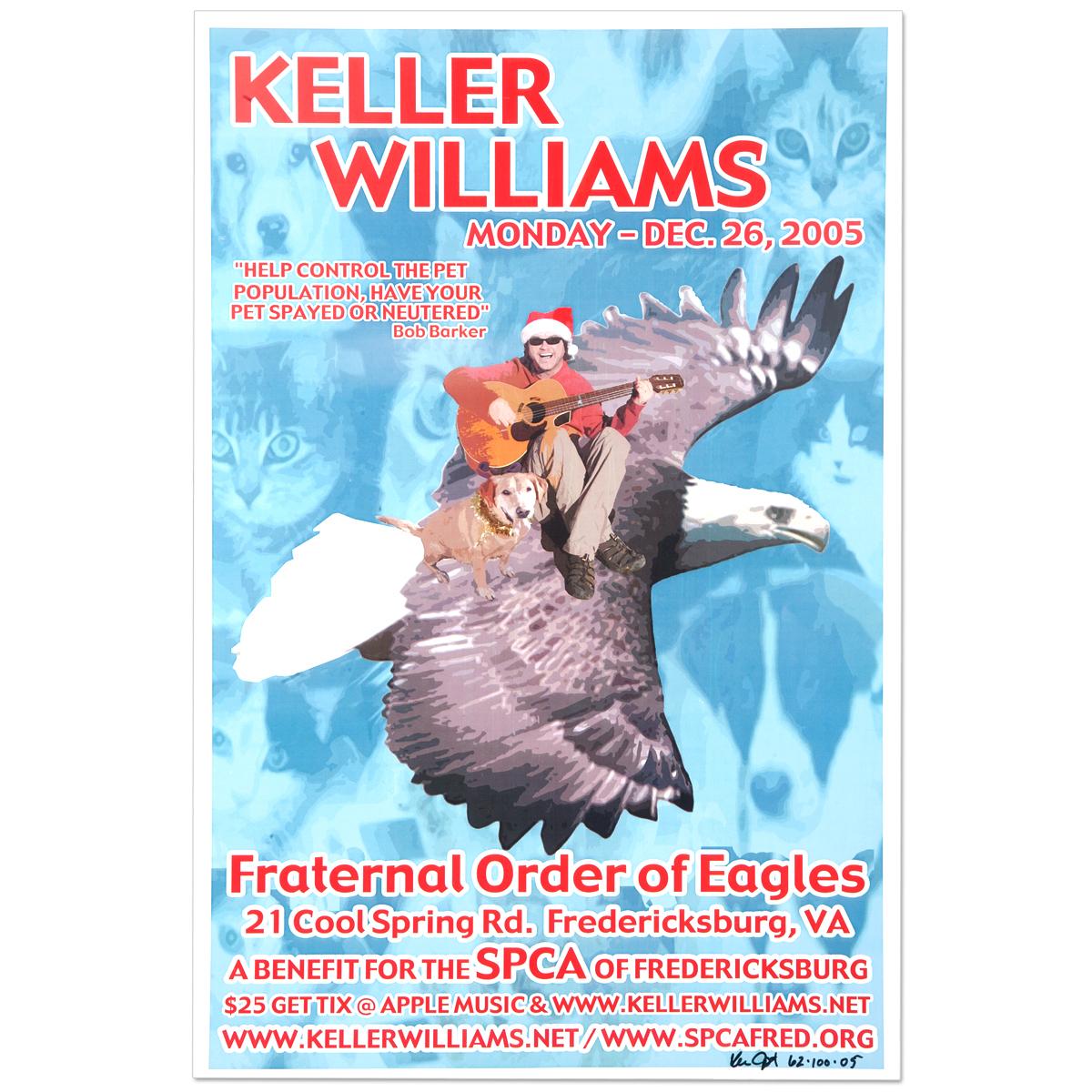 Keller Williams Fredericksburg, VA 12/26/05 Event Poster