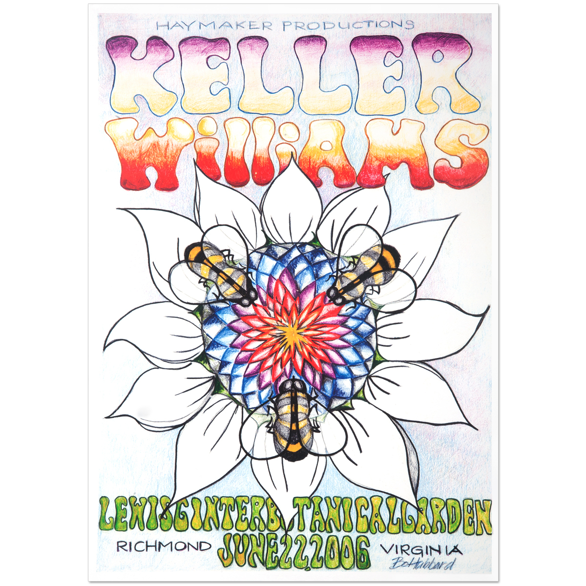 Keller Williams Richmond, VA 06/22/06 Event Poster