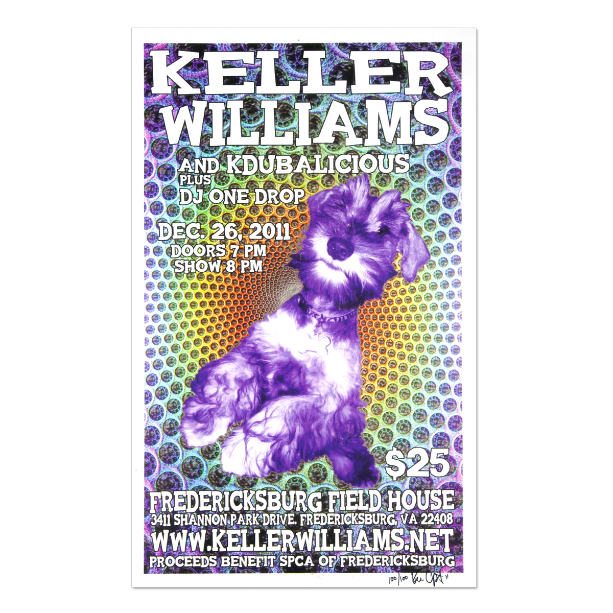 Keller Williams Fredericksburg, VA 12/26/11 Event Poster