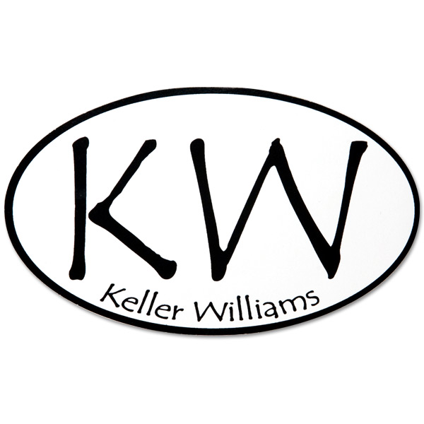 Keller Williams KW Logo Sticker