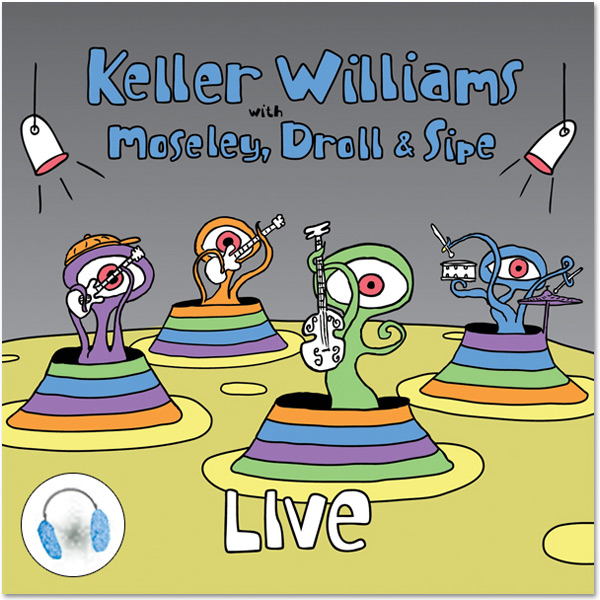 Keller Williams Live CD/DVD