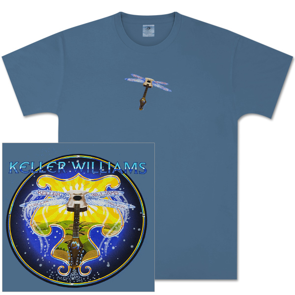 Keller Williams Dragonfly T-Shirt