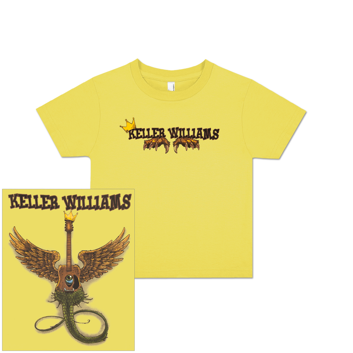 Keller Williams Kid's The Wild Thing T-Shirt