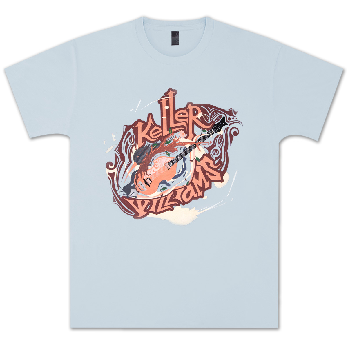 Keller Williams Bass Bird  T-Shirt