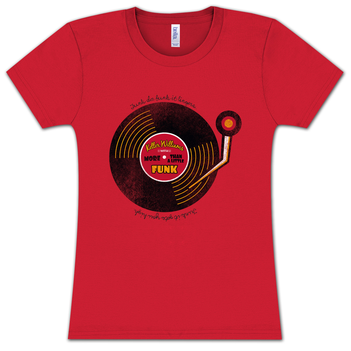 Keller Williams Funk More Than A Little Ladies T-Shirt