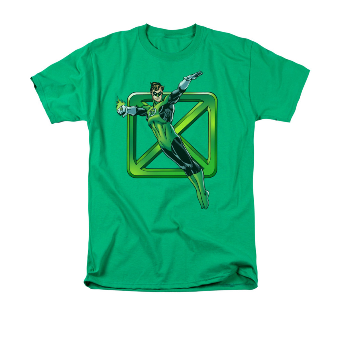 Sheldon's Green Cross T-shirt - Size: Large 2870-824629-L-GRN