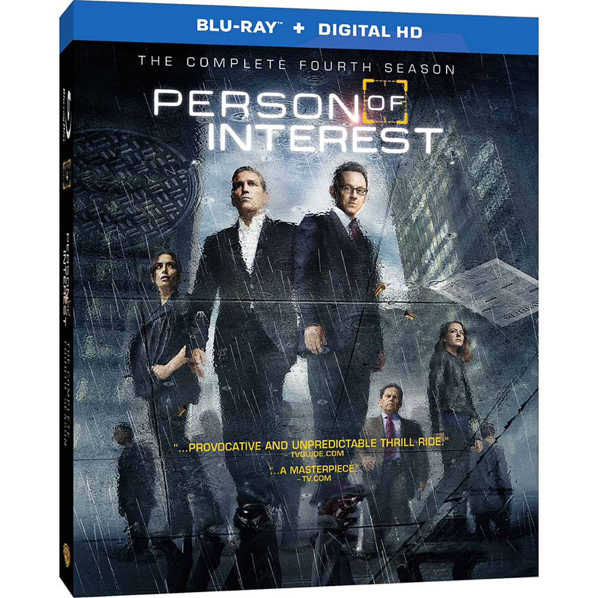Person Of Interest: Season 4 (Blu-ray + UltraViolet) -  DVDs & Videos 6445-845993
