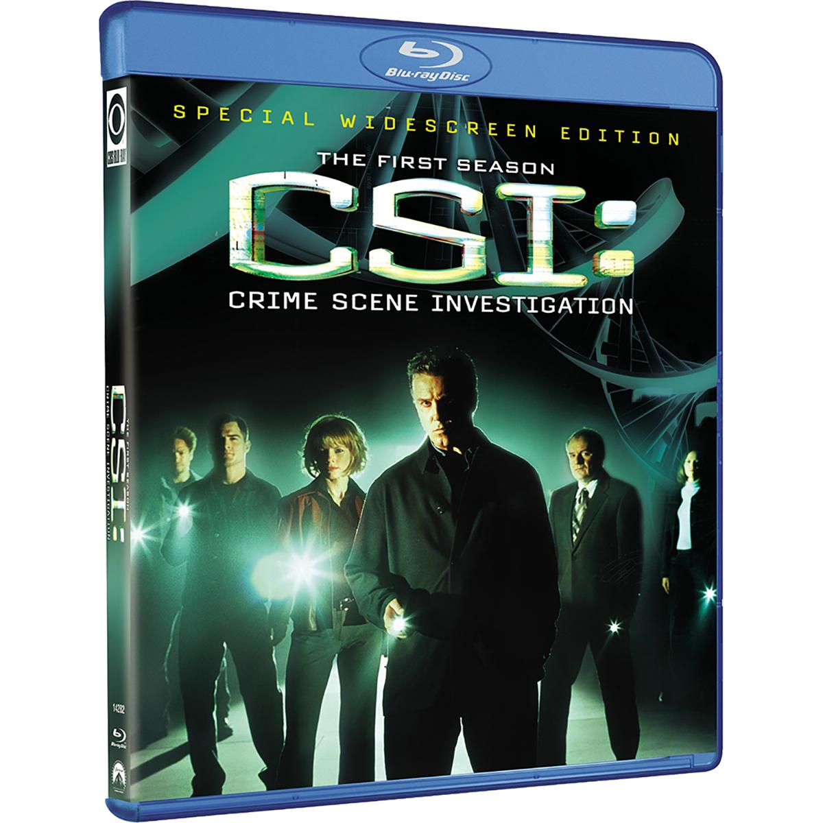 CSI: Crime Scene Investigation - Season 1 Blu-ray -  DVDs & Videos 192-87713