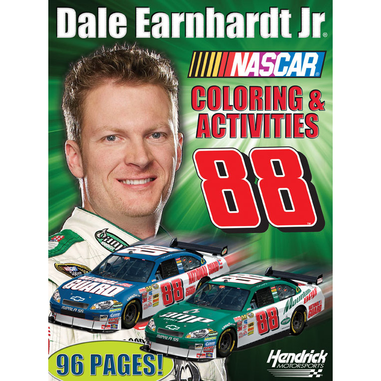 dale earnhardt junior coloring pages - photo#34
