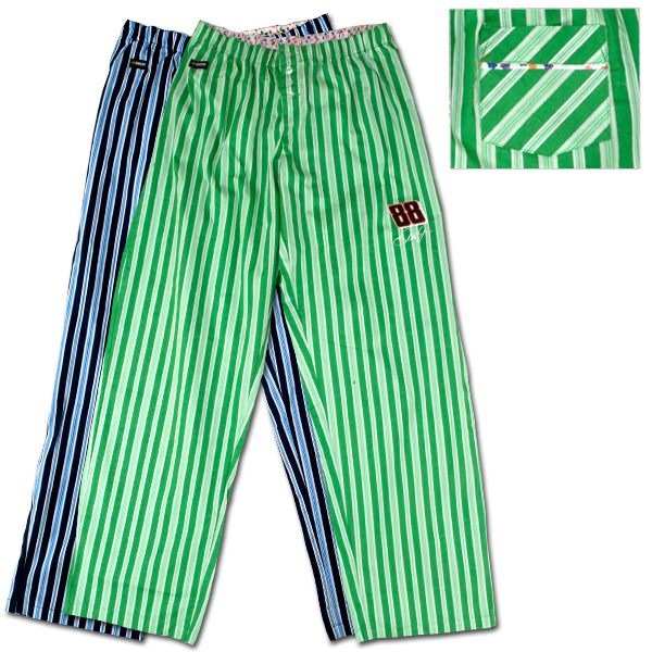 Dale Jr. #88 Ladies Striped Pants