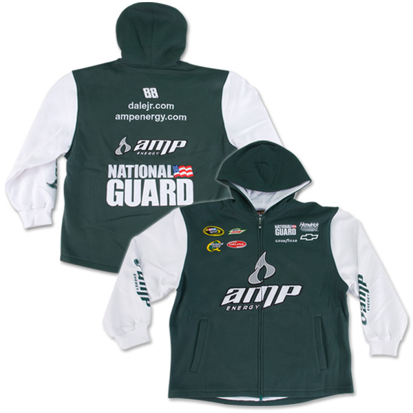 Dale Jr. #88 2010 AMP/Nat'l Guard Uniform Hoodie