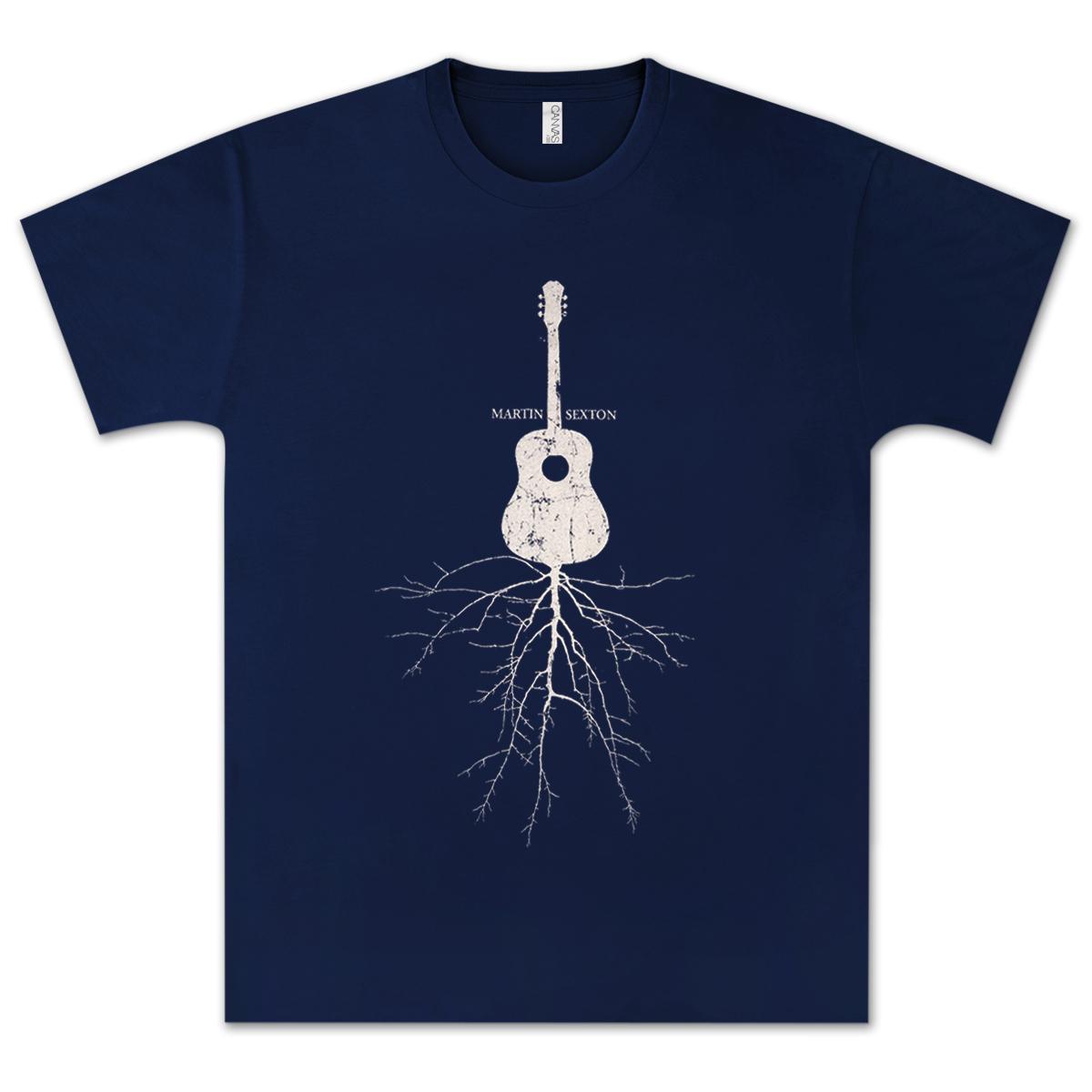 Martin Sexton Rootsy Navy T-Shirt