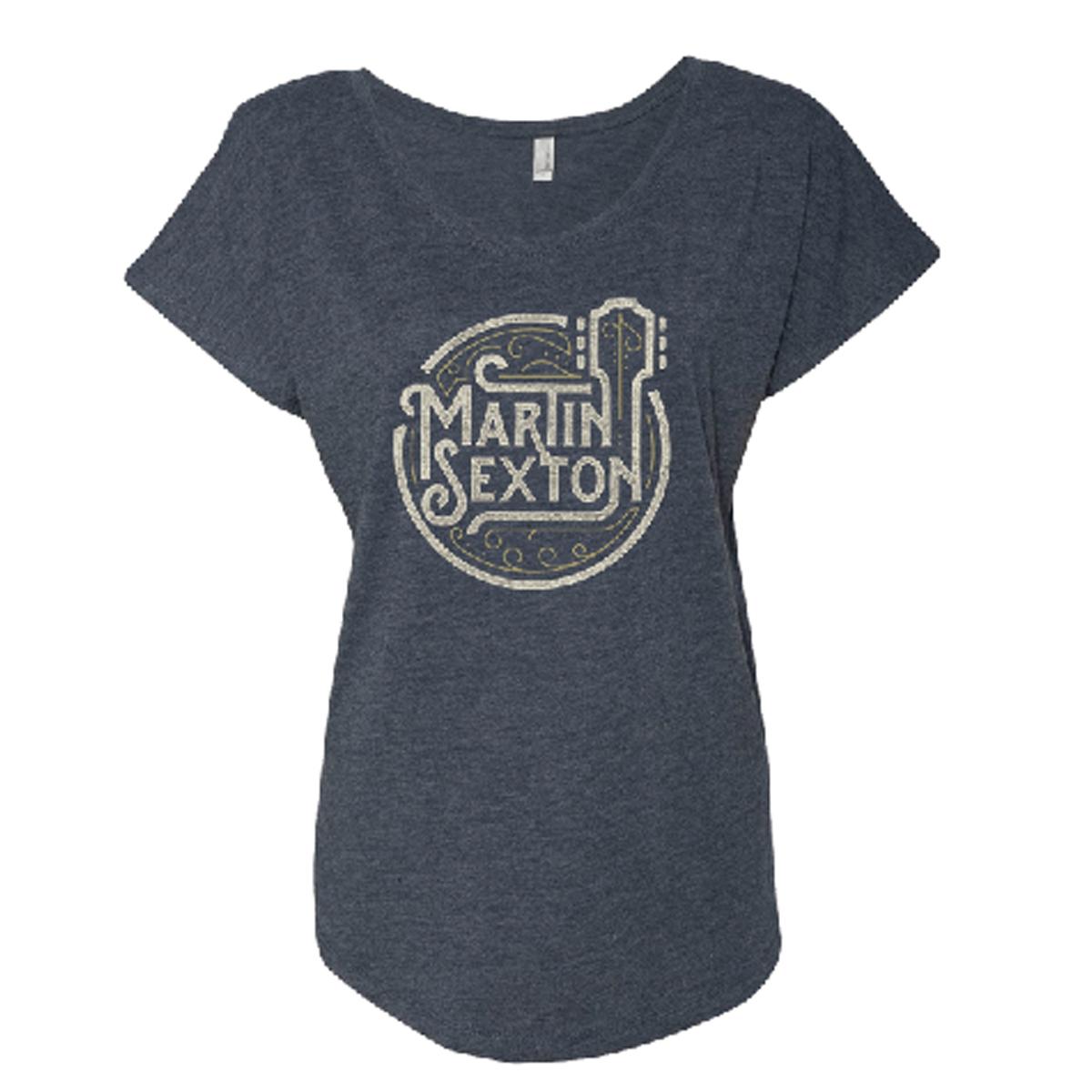 Ladies Guitar Headstock T-Shirt