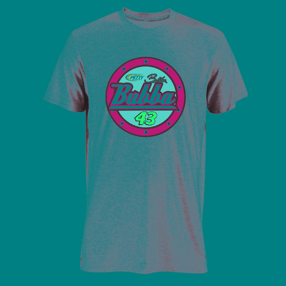 Bubba Wallace #43 NASCAR Victory Junction Darlington Grey T-shirt