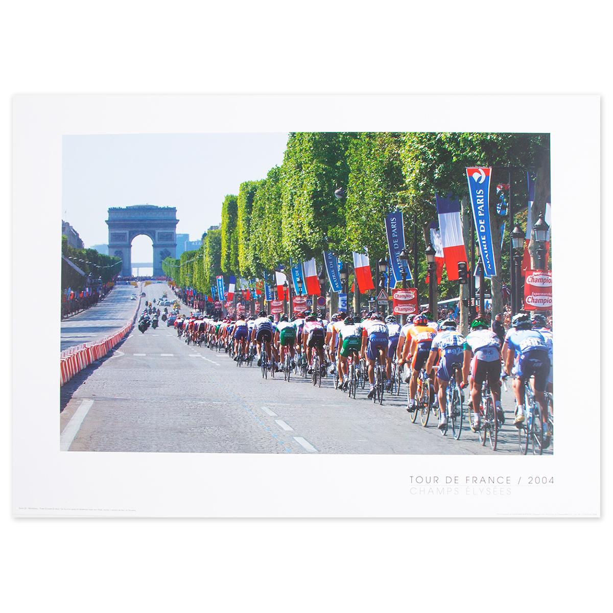 2004 Tour de France - Champs Elysee Poster
