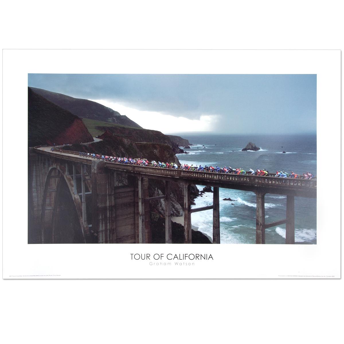 2007 Tour of California Poster