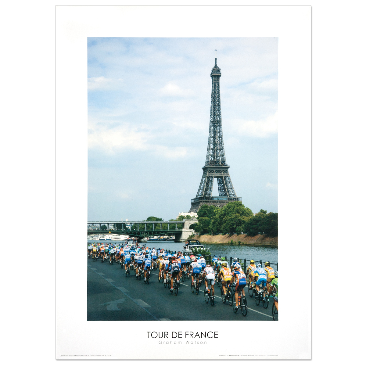 2006 Tour de France - Eiffel Tower Mini Poster