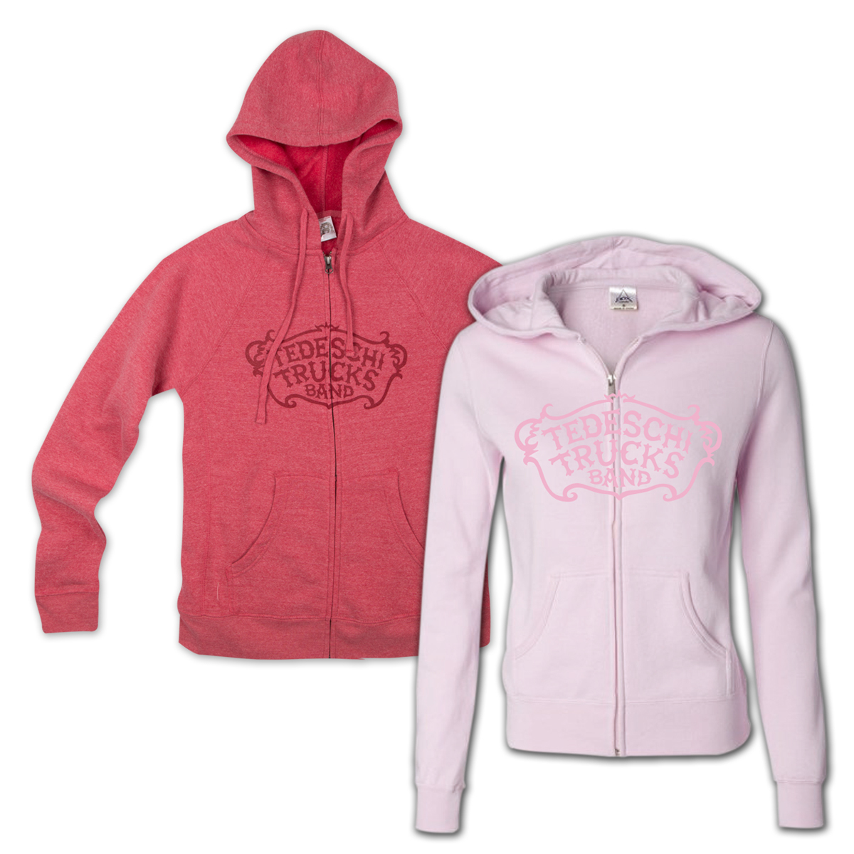 TTB Women's Zip-Up Hoodie