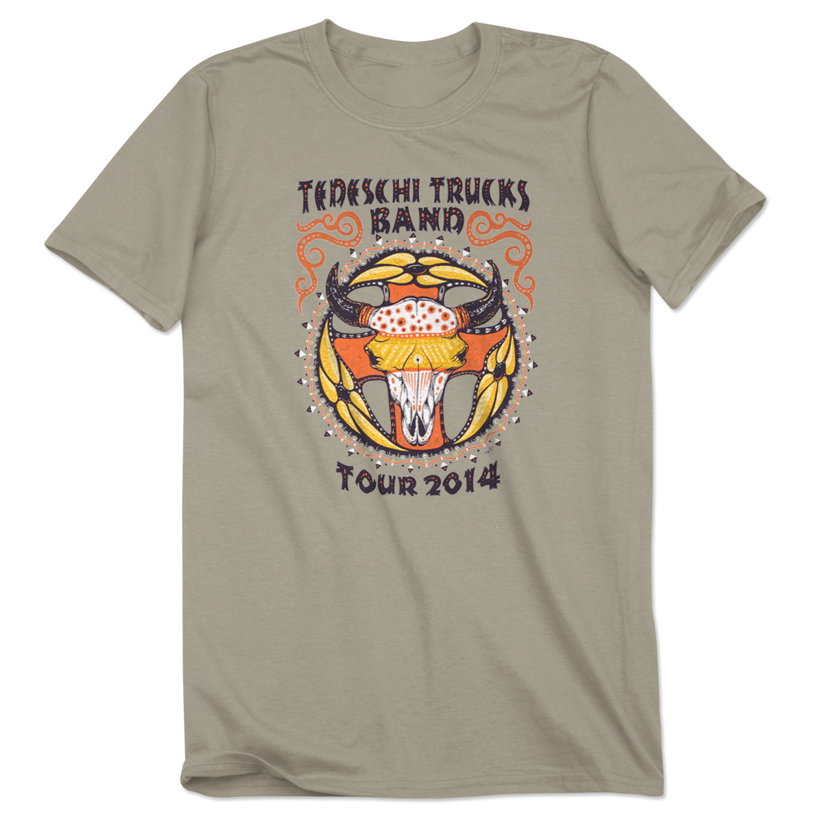 TTB 2014 Men's Spring/Summer Tour T-Shirt - Sandstone
