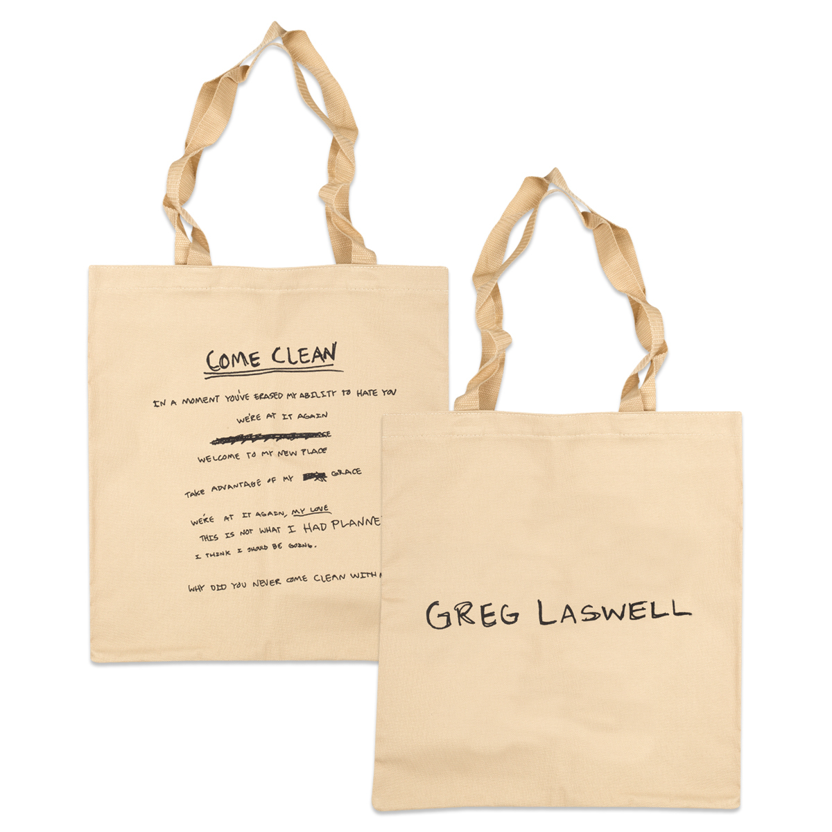 Come Clean Tote Bag