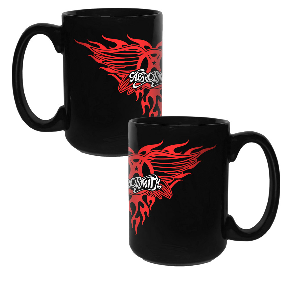 Aerosmith Band Logo Mug