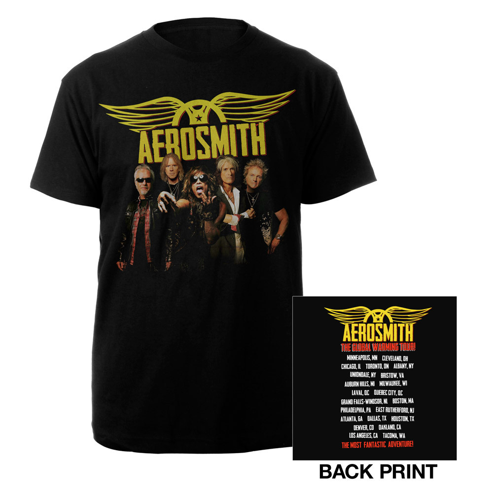 Aerosmith Global Warming Tour Tee