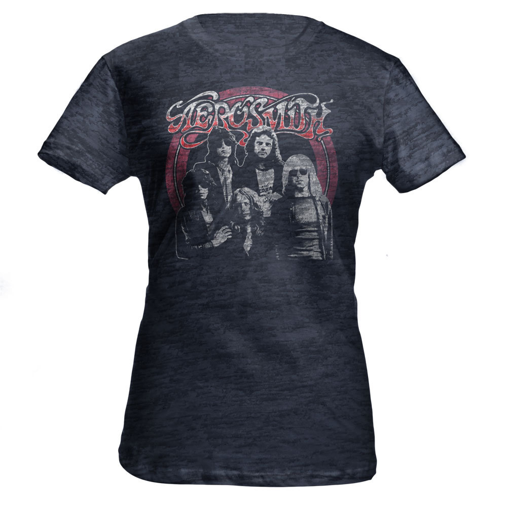 Aerosmith Jr. Burnout Tee