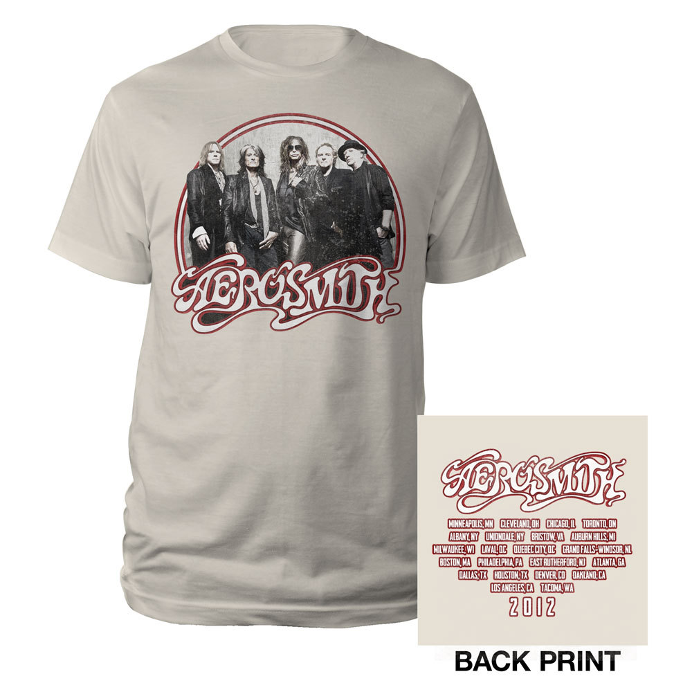 Aerosmith Band Photo Tour Tee