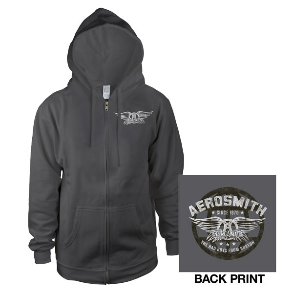 Aerosmith Zip-Up Hoodie
