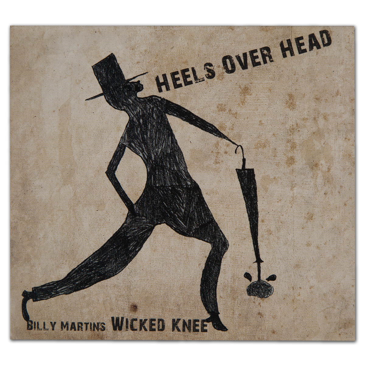 Billy Martin's Wicked Knee - Heels Over Head Digital Download
