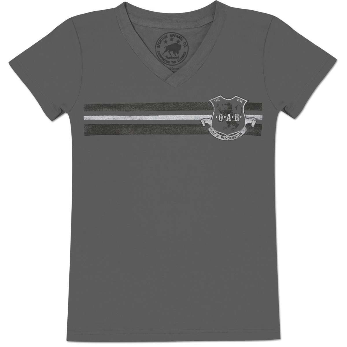 O.A.R. Coat of Arms V-Neck T-Shirt