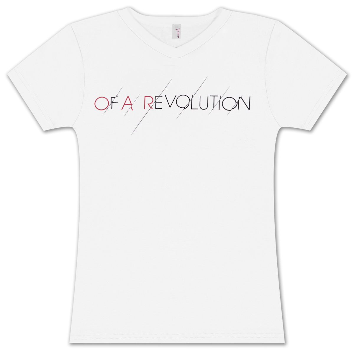 O.A.R. Women's Scratch V-Neck T-Shirt
