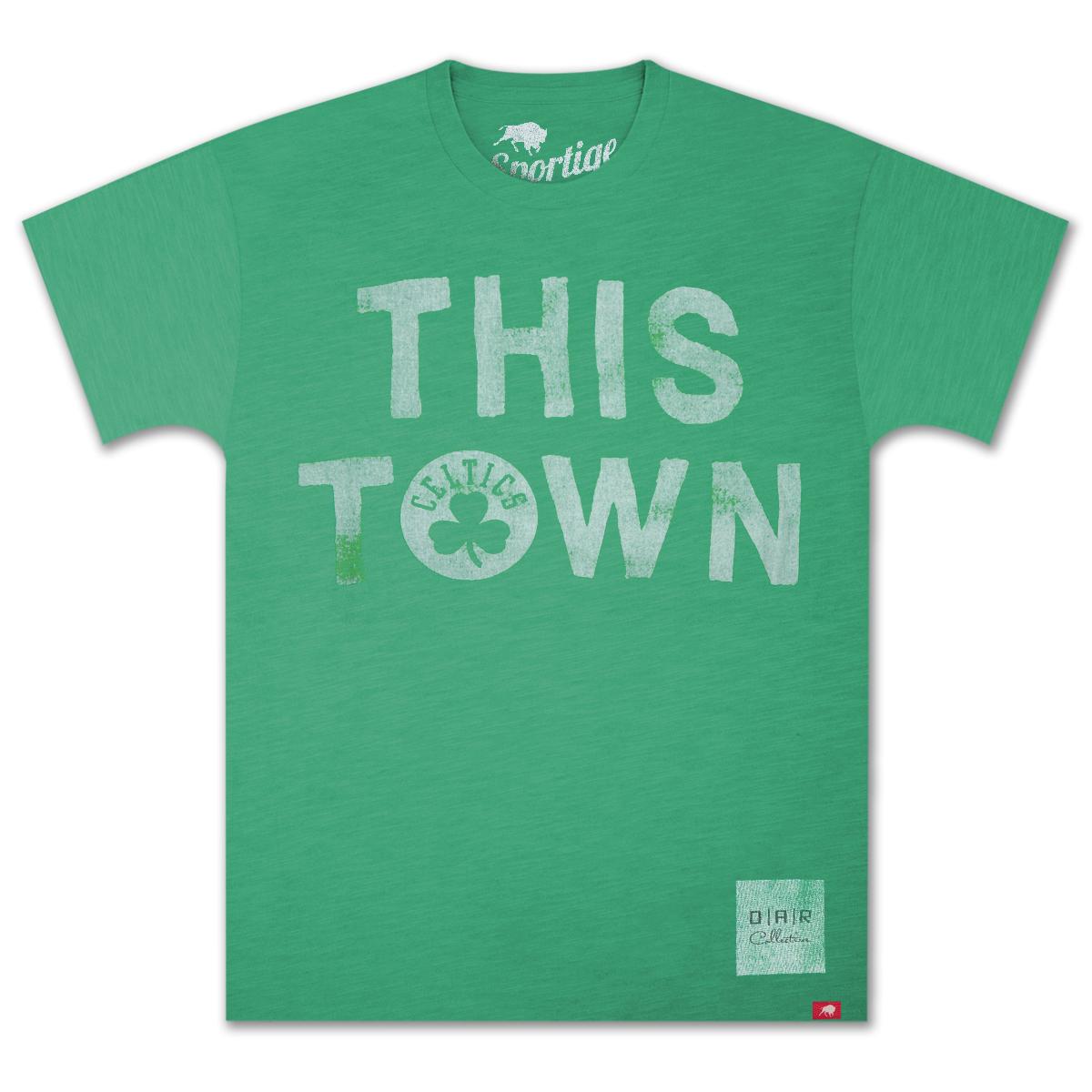 "O.A.R. Collective NBA ""This Town"" Boston Celtics T-Shirt"