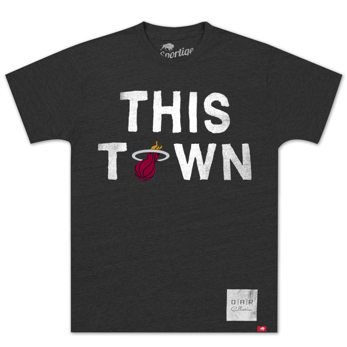 "O.A.R. Collective NBA ""This Town"" Miami Heat T-Shirt"