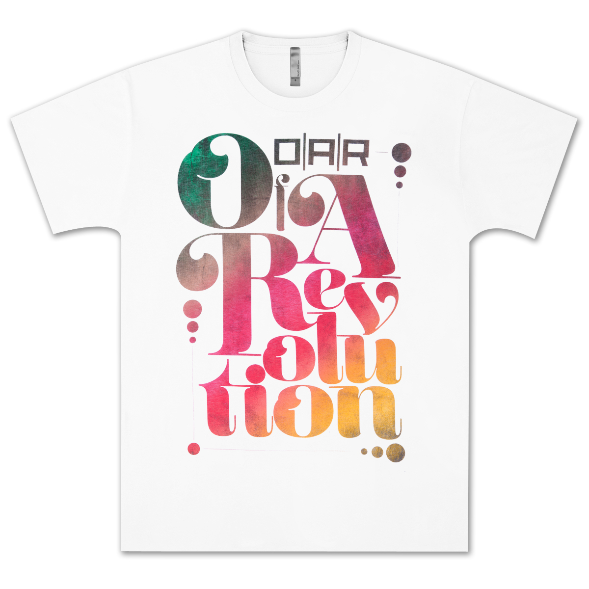 O.A.R. Bowery White T-Shirt