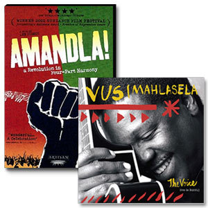 Amandla! DVD/The Voice CD Bundle