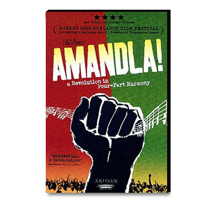 Amandla! A Revolution in Four-Part Harmony DVD