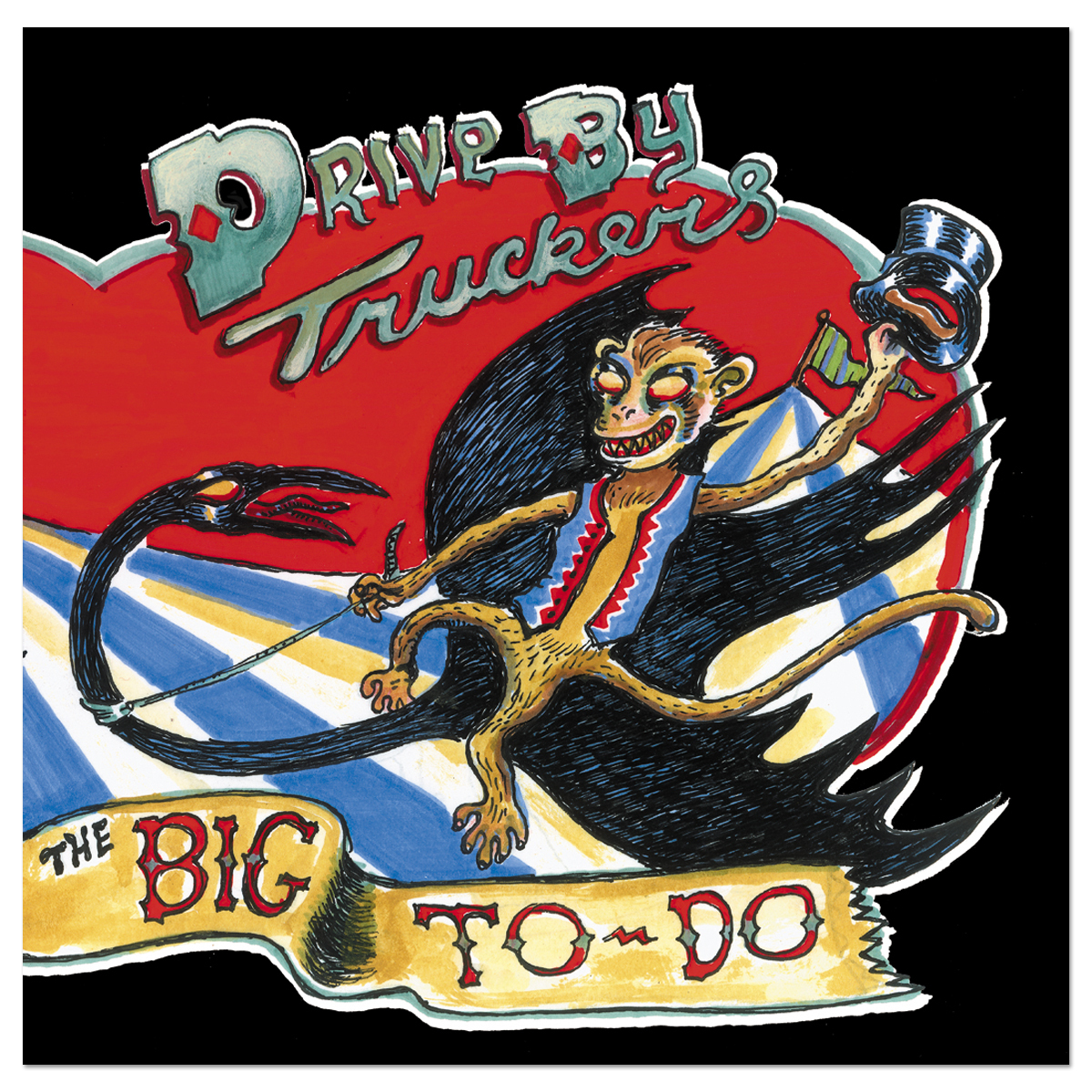 Drive By Truckers - Big To-Do CD