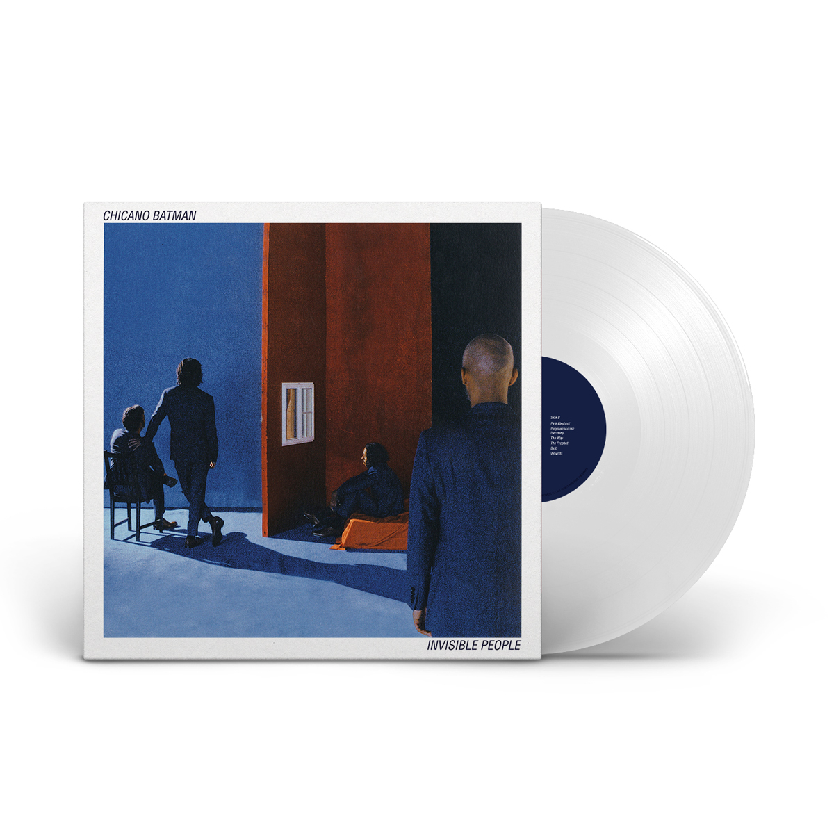 Chicano Batman – Invisible People Limited Edition White LP