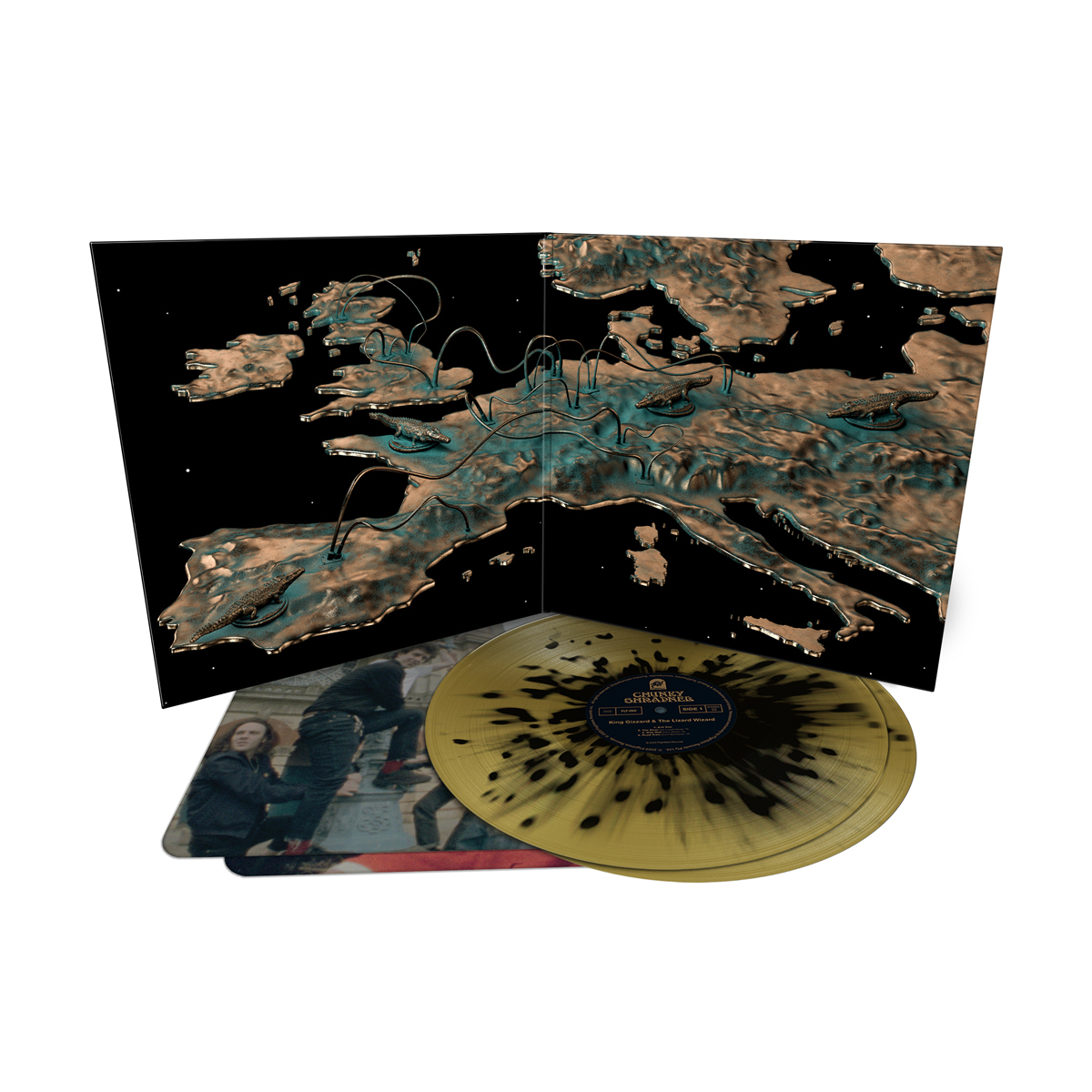 King Gizzard & The Lizard Wizard - Chunky Shrapnel (Vomit Bomb Edition) Colored Vinyl
