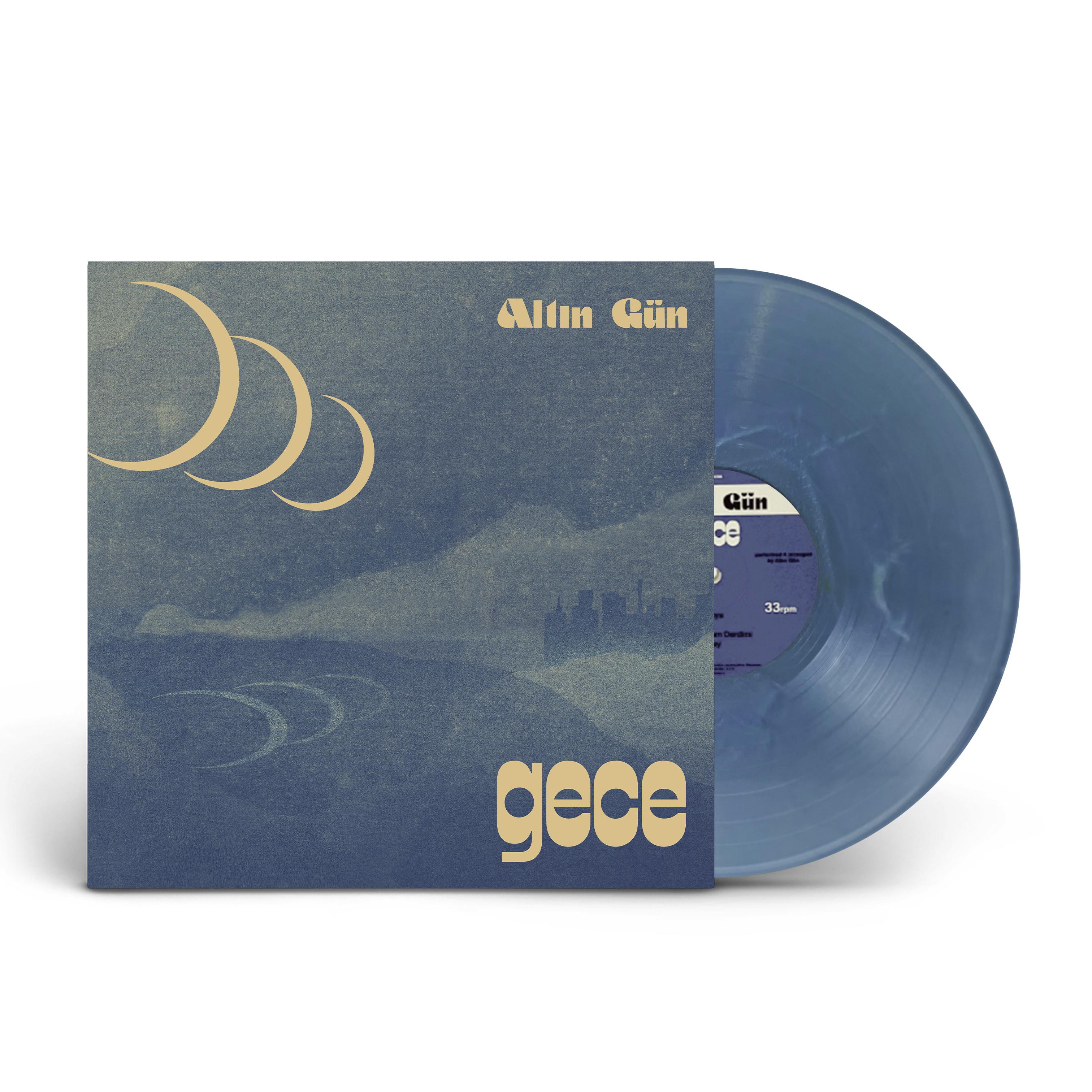 Altin Gün - Gece – Limited Edition Summer Sky Wave – Eco- Blue Vinyl