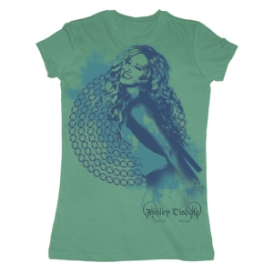 Ashley Tisdale Blue Note Babydoll Tee