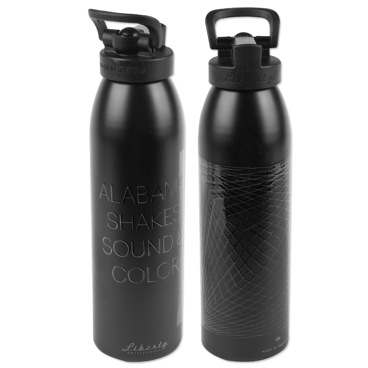 Sound and Color Water Bottle