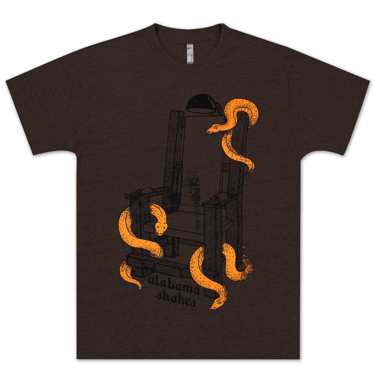 Alabama Shakes Electric Chair T-Shirt
